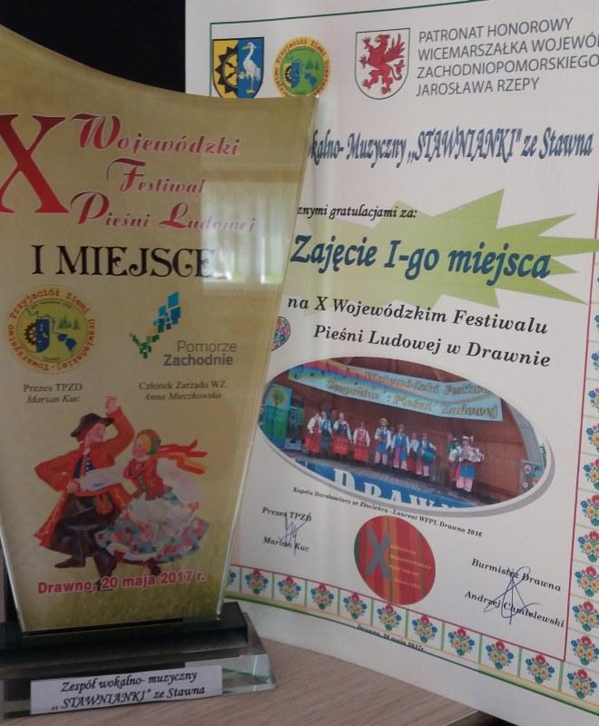 X Jubileuszowy Festiwal Pieśni Ludowej w Drawnie
