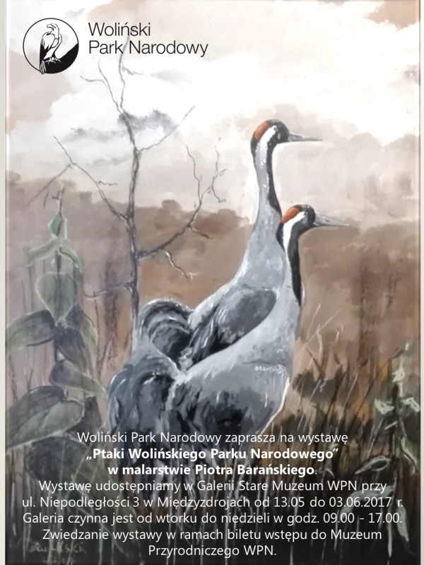 Woliński Park Narodowy zaprasza na wystawę