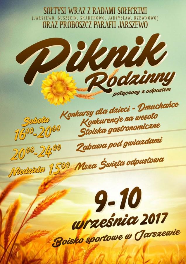 Piknik Rodzinny w Jarszewie