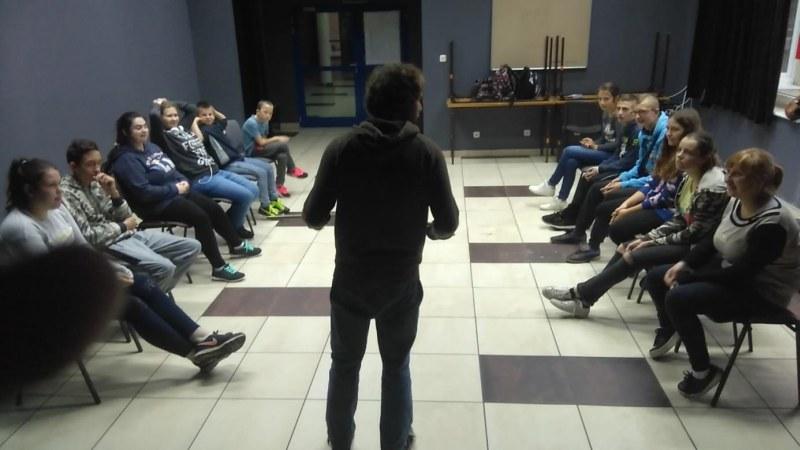 Uczniowie Ośrodka Szkolno – Wychowawczego realizowali projekt EKDUS