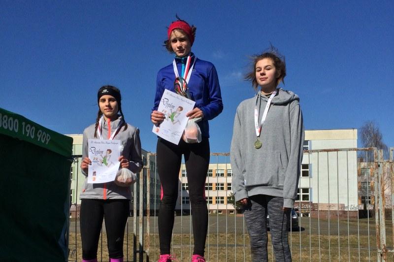 "Lekkoatletki ""Chrobrego"" na podium"