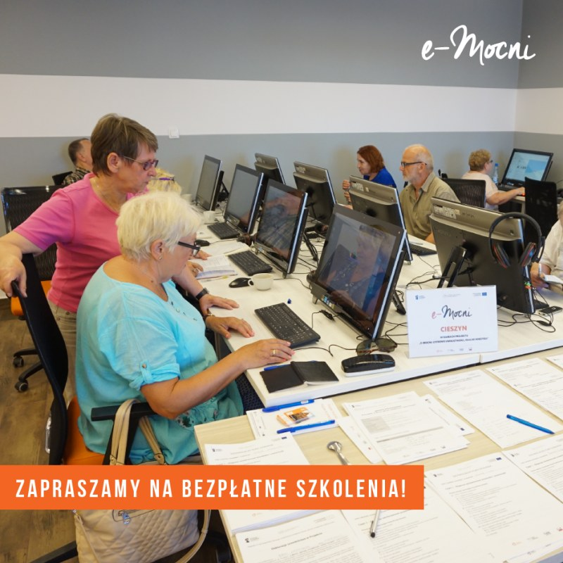 REKRUTACJA DO kolejnej partii Szkoleń e-MOCNYCH