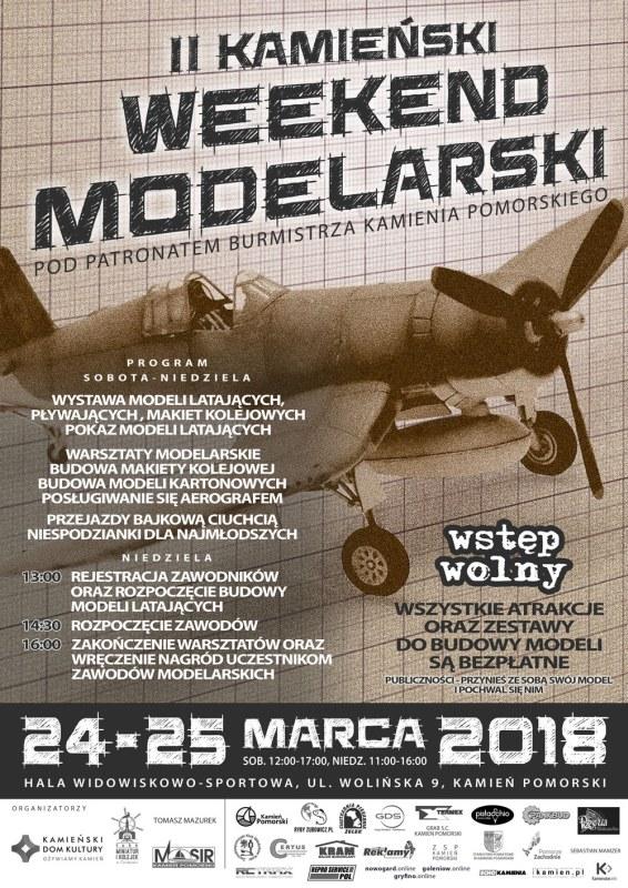 II Rodzinny Kamieński Weekend Modelarski