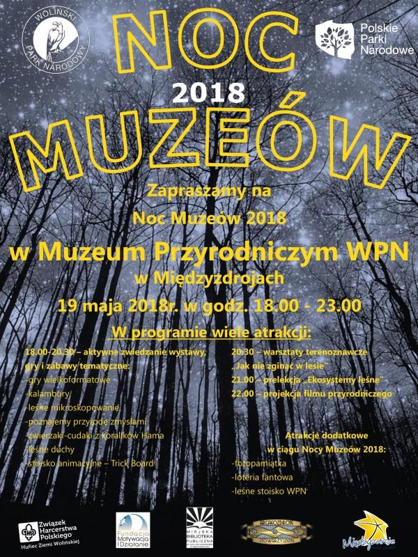 Noc Muzeów 2018 Woliński Park Narodowy