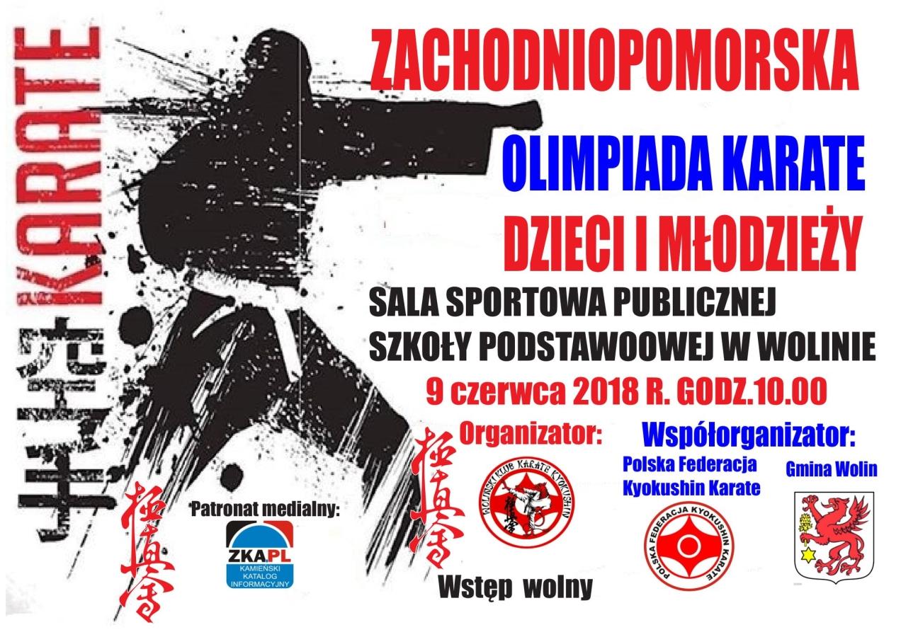 Zachodniopomorska Olimpiada Karate Dzieci i Młodzieży