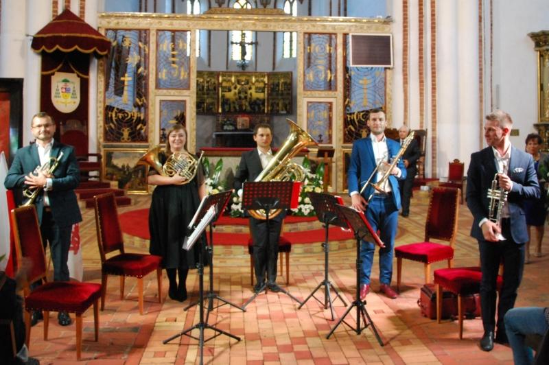 Organy i instrumenty dęte. Czwarty koncert kamieńskiego festiwalu