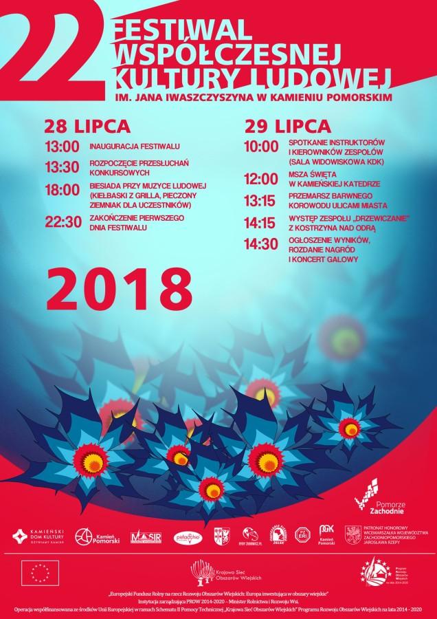 Już w  sobotę rozpocznie się XXII  Festiwal Współczesnej Kultury Ludowej im. Jana Iwaszczyszyna