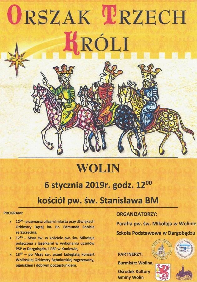 Orszak Trzech Króli w Wolinie