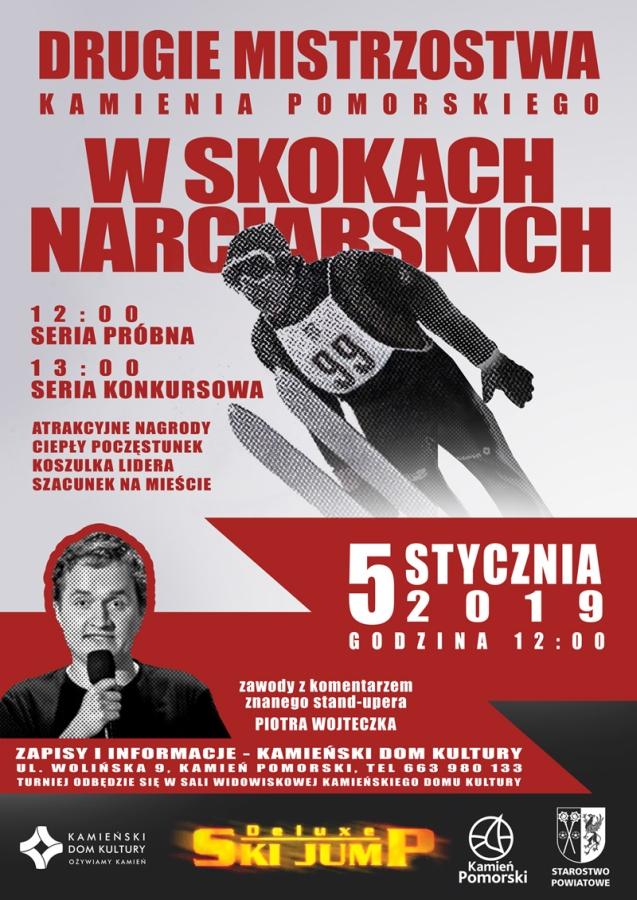 Mistrzostwa Kamienia Pomorskiego w Skokach Narciarskich!