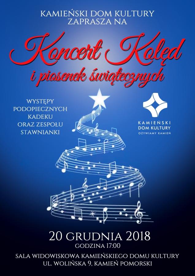 Koncert kolęd i piosenek świątecznych