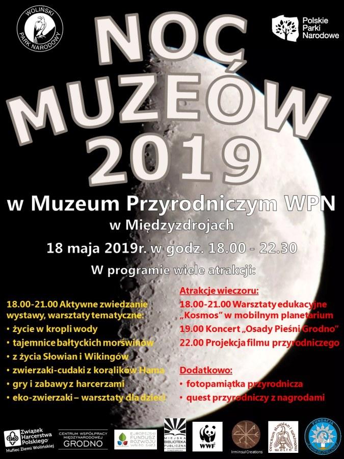 Noc Muzeum Woliński Park Narodowy