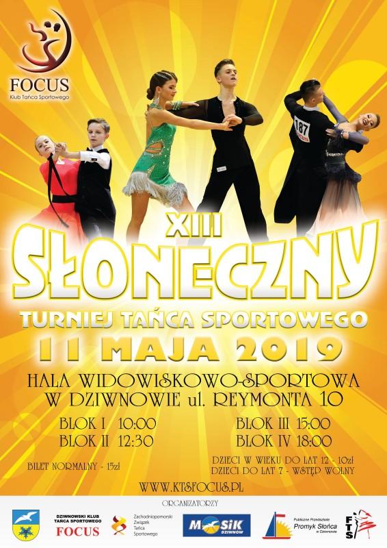 XIII Wiosenny Turniej Tańca w Dziwnowie