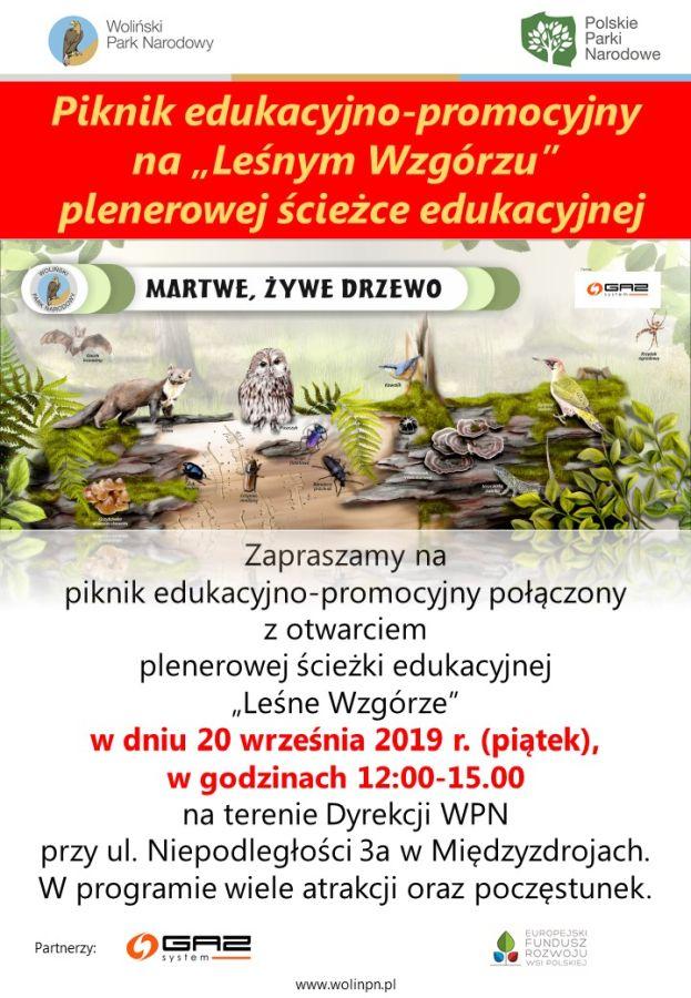 Informacja o letnim projekcie Wolińskiego Parku Narodowego