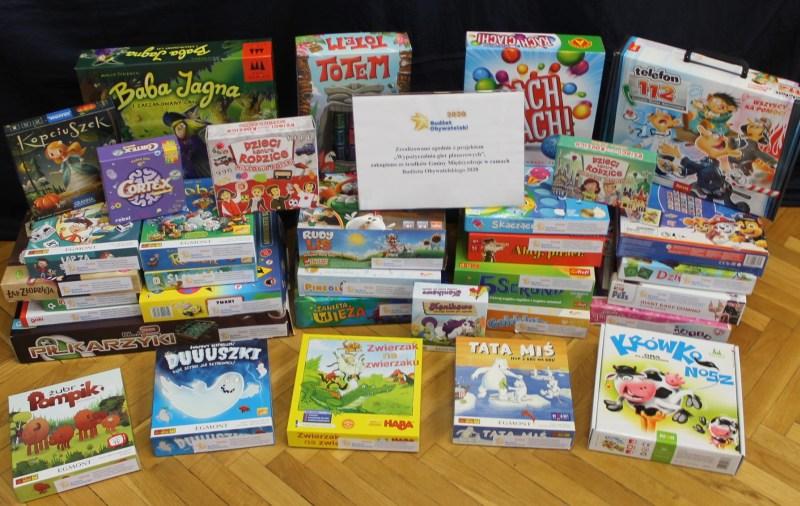 Z okazji Dnia Dziecka – nowe planszówki w międzyzdrojskiej bibliotece