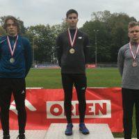 Artur Udycz mistrzem województwa U18